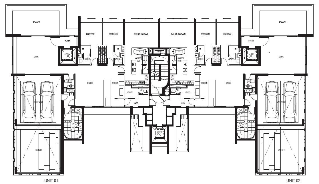 Reignwood Hamilton Scotts 3 Bedroom Floor Plans