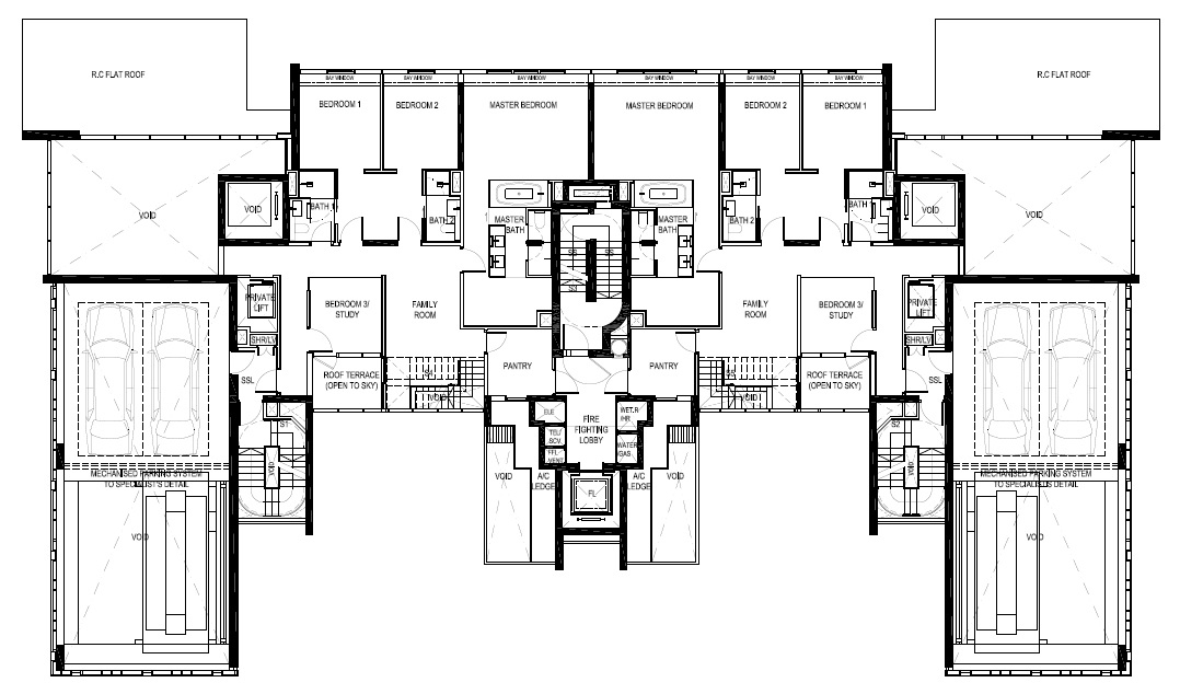 Reignwood Hamilton Scotts Penthouse Level 29 Floor Plans